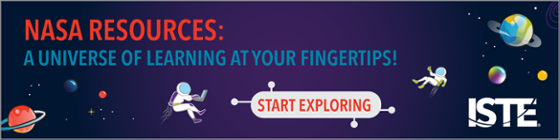 NASA Resources: A universe of learning at your fingertips! Start exploring!