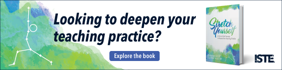 Looking to deepen your teaching practice? Explore the book Stretch Yourself.