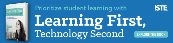 Priorice el aprendizaje de los estudiantes con Learning First, Technology Second. ¡Explora el libro!