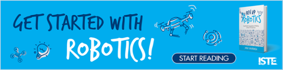 Get started with robotics! Start reading!