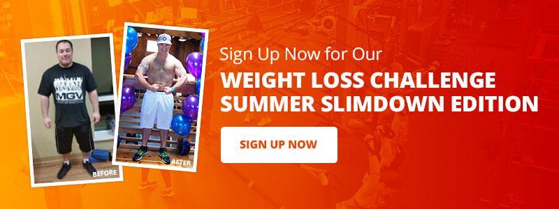 summer slim down weight loss challenge
