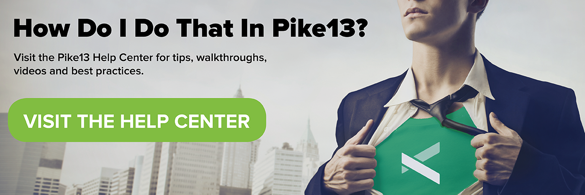 Visit the Pike13 Help Center
