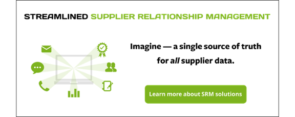 streamlined supplier relationship management learn more