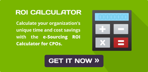 Download the e-Sourcing ROI Calculator
