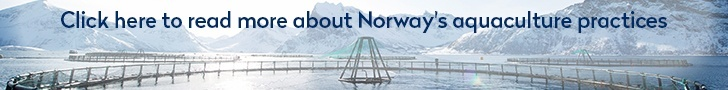Click here to read more about Norway's aquaculture practices