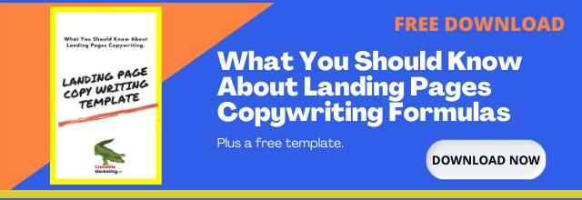 Landing page copywriting free offer cta