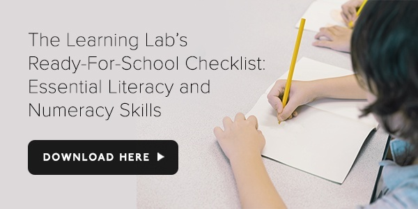 Download TLL's Ready-For-School Checklist