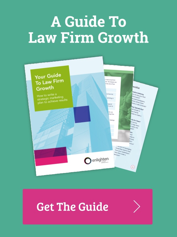 Marketing planning to take your law firm to the next level