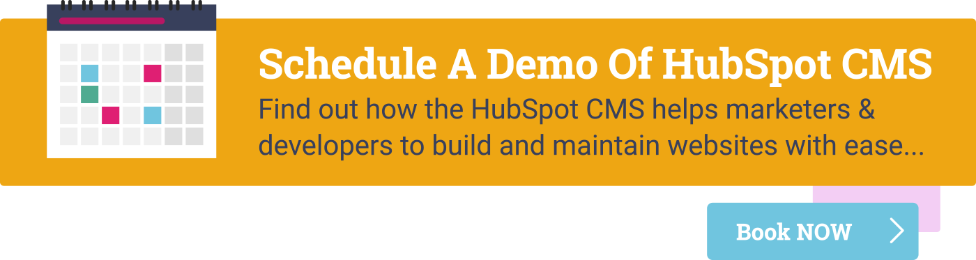 HubSpot CMS Hub Demo