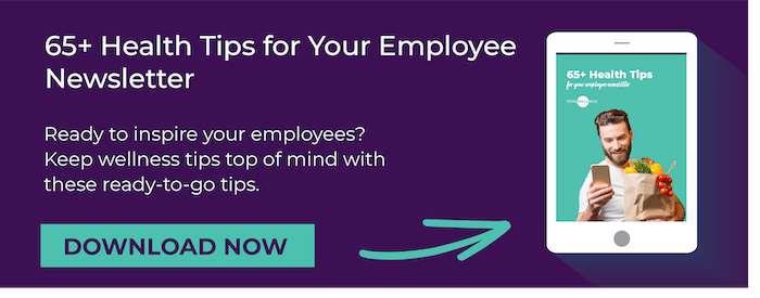 Health Tips for Employee Newsletter