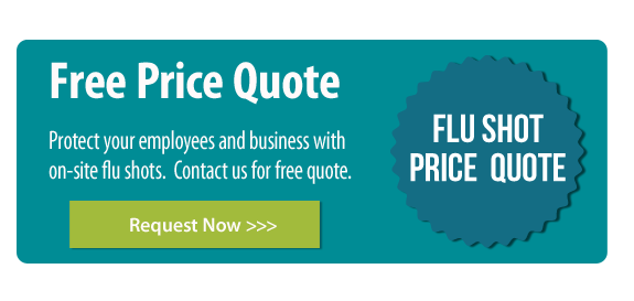 Corporate Flu Shot Price Quote