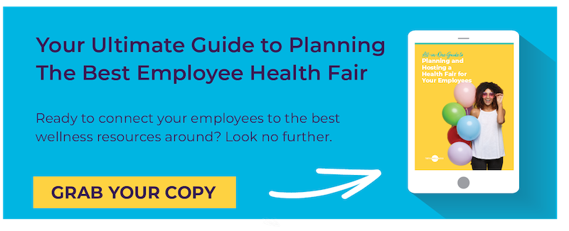Health Fair Guide CTA