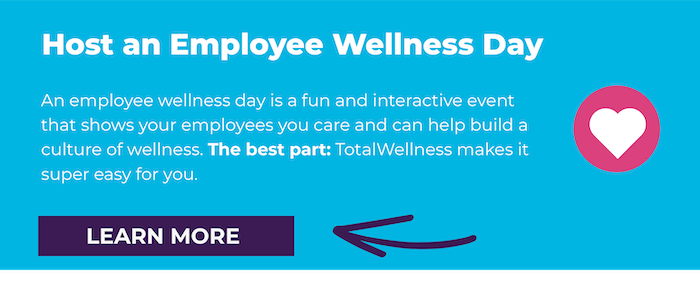 Host an Employee Wellness Day