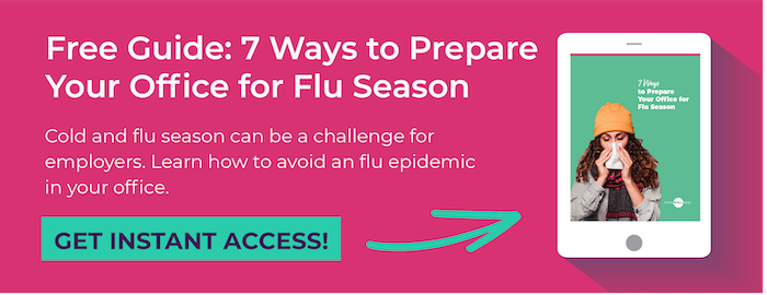 Prepare your office for flu season