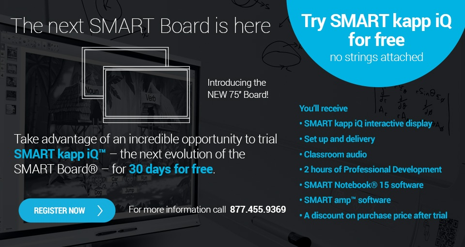 SMART kapp iQ free trial