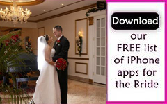 Apps for planning a wedding
