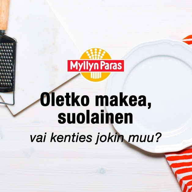 Minkä makuinen tyyppi olet