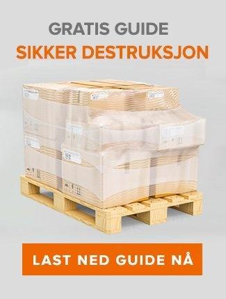 Last ned gratis guide: Sikker destruksjon