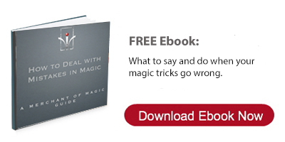 Free Ebook - How to Deal with Mistakes in Magic