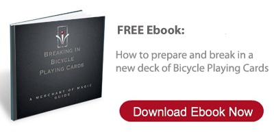 Free Ebook: How To Break In Bicycle Playing Cards