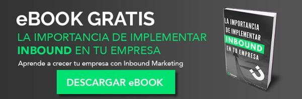 Ebook Importancia de implementar inbound en tu empresa