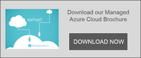 download iomart's Managed Azure Cloud Brochure