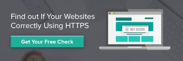 Free HTTPS Check Button