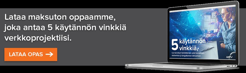 Viisi käytännön vinkkiä verkkoprojektiin banner