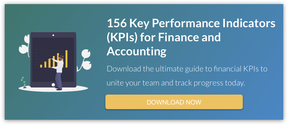 156 Key Performance Indicators (KPIs) for Finance and Accounting