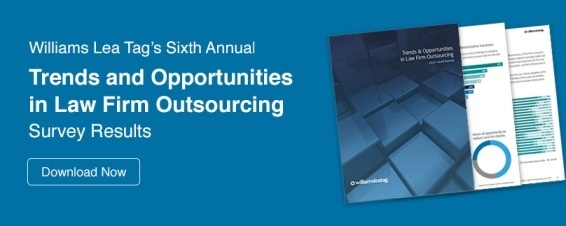 Download our Law Firm Outsourcing Survey