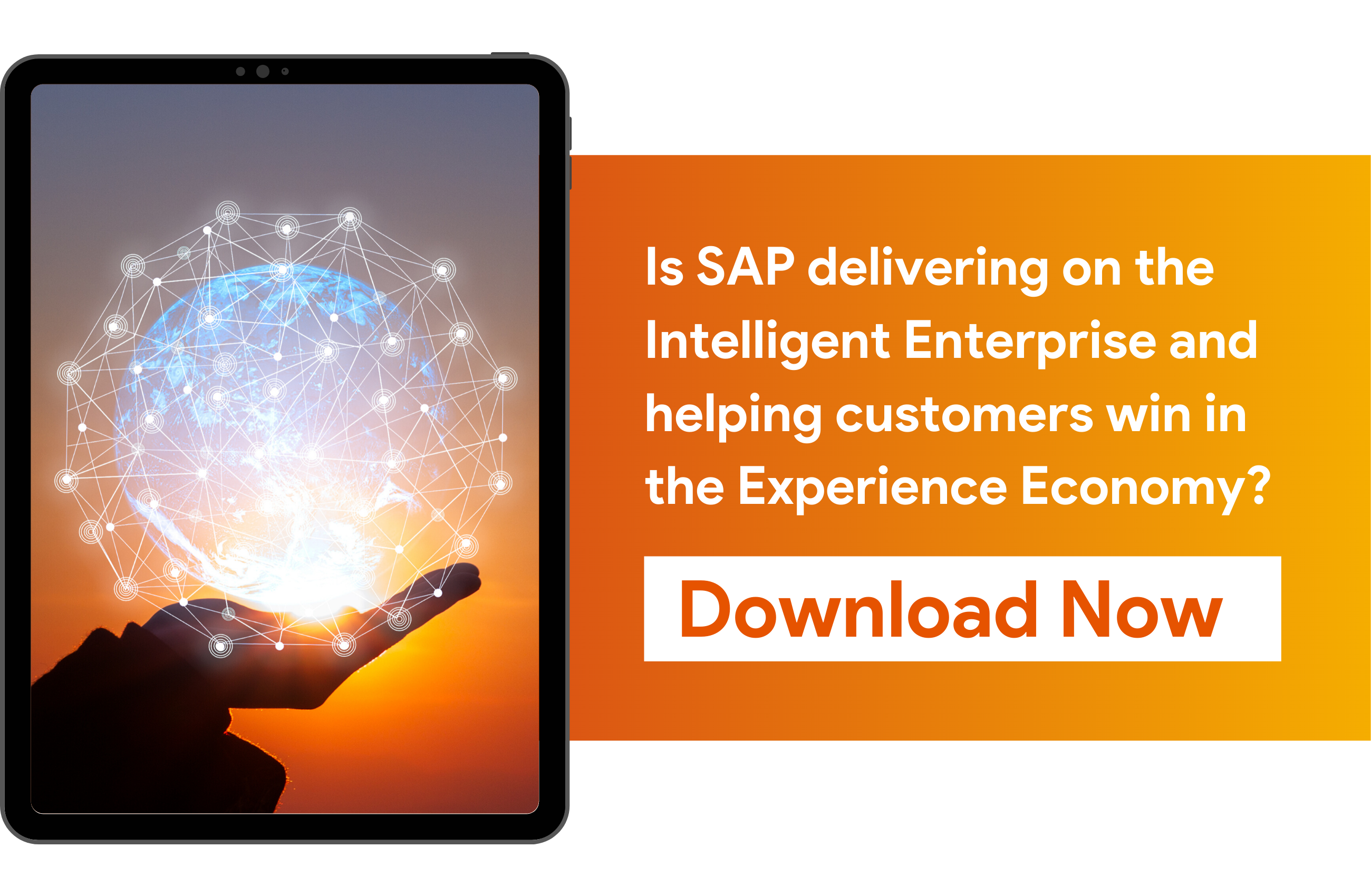 eBook - How is SAP delivering on the Intelligent Enterprise and helping customers win in the Experience Economy?