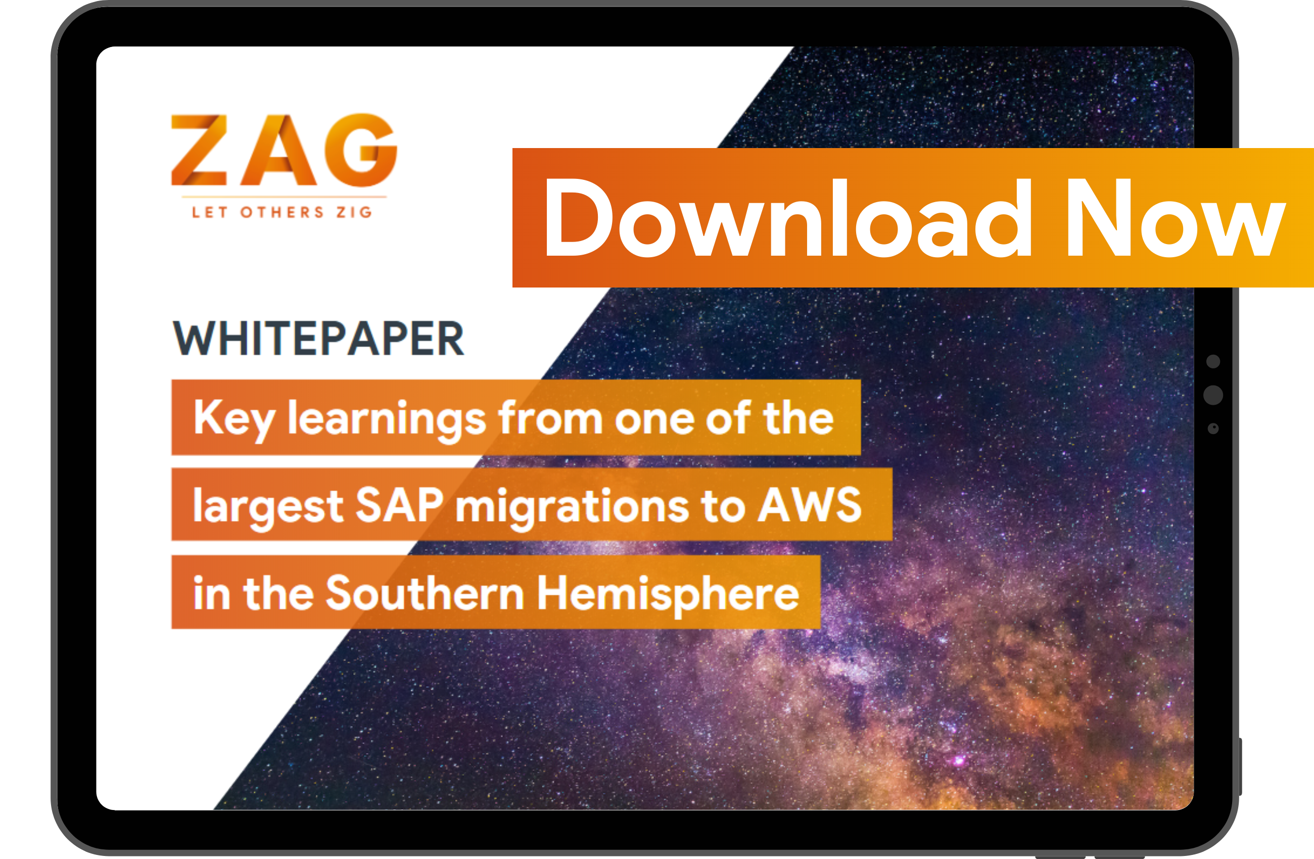 Download our whitepaper: Key learnings from one of the largest SAP migrations to AWS in the Southern Hemisphere
