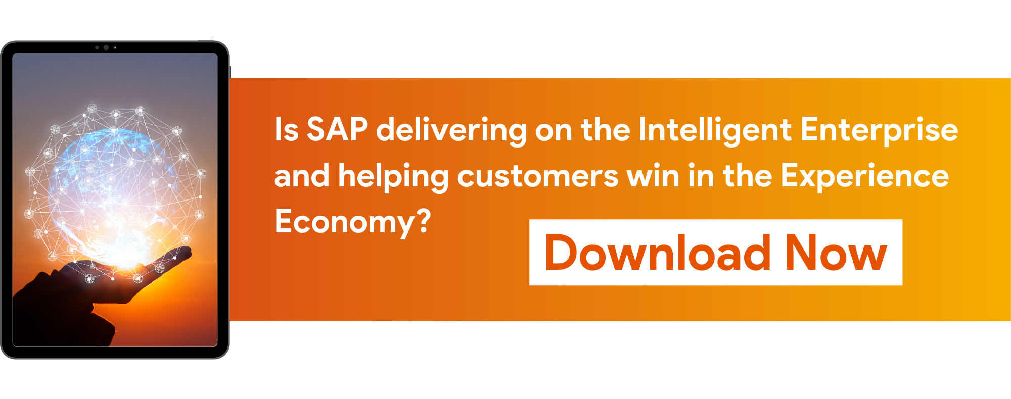 eBook - How SAP is delivering on the Intelligent Enterprise and helping customers win in the Experience Economy