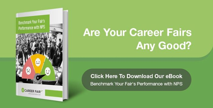 Benchmark your career fair with NPS