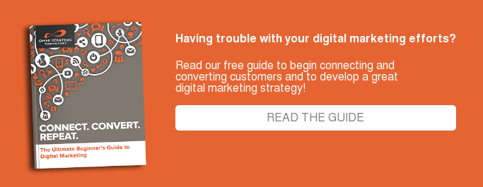 Having trouble with your digital marketing efforts?  Read our free guide to begin connecting and   converting customers and to develop a great  digital marketing strategy!      READ THE GUIDE