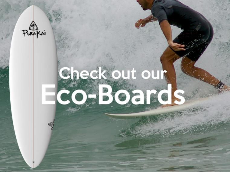 certified sustainable surfboards purakai