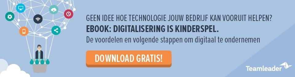 digitaliseren met je onderneming