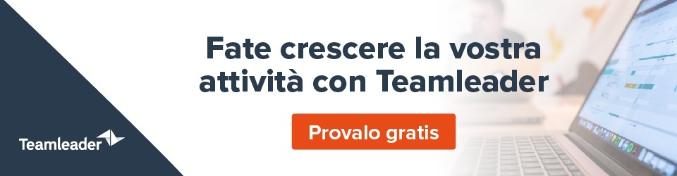 Fate impennare le vendite e rendete il marketing più efficace con Teamleader - provalo gratis