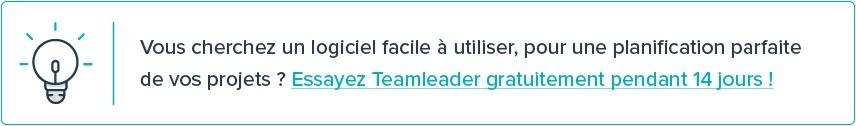 Vous voulez avoir une meilleure vision de vos projets et des estimations plus fines ? Essayez Teamleader gratuitement pendant 14 jours !