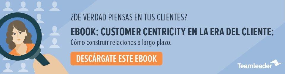 ebook CTA customer centricity