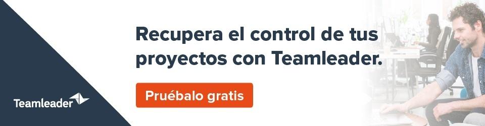 Controla tus proyectos y prioridades con Teamleader. Pruébalo gratis.