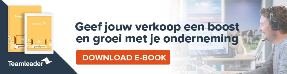 Optimaliseer je verkoopproces - download e-book