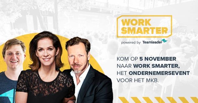 Kom op 5 november naar Work Smarter