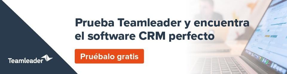 Teamleader CRM software pruébalo gratis