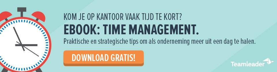 ebook: time management voor ondernemingen