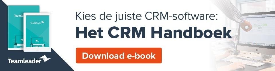 Vind de perfecte CRM-tool: het CRM handboek