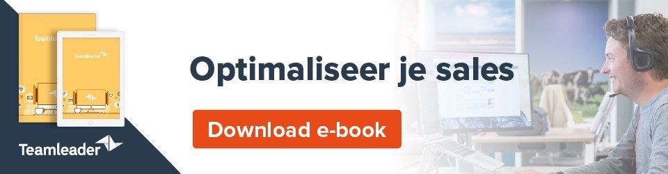 Versterk jouw sales en laat je organisatie groeien - Download e-book