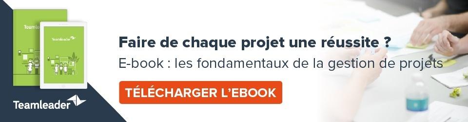 Les bases de la gestion de projets : télécharger l'e-book.