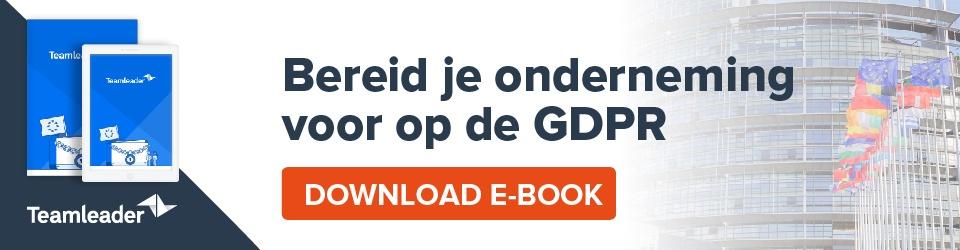 E-book: GDPR - bereid je onderneming voor Download e-book