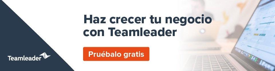 Mejora tus ventas y tu marketing con Teamleader - pruébalo gratis